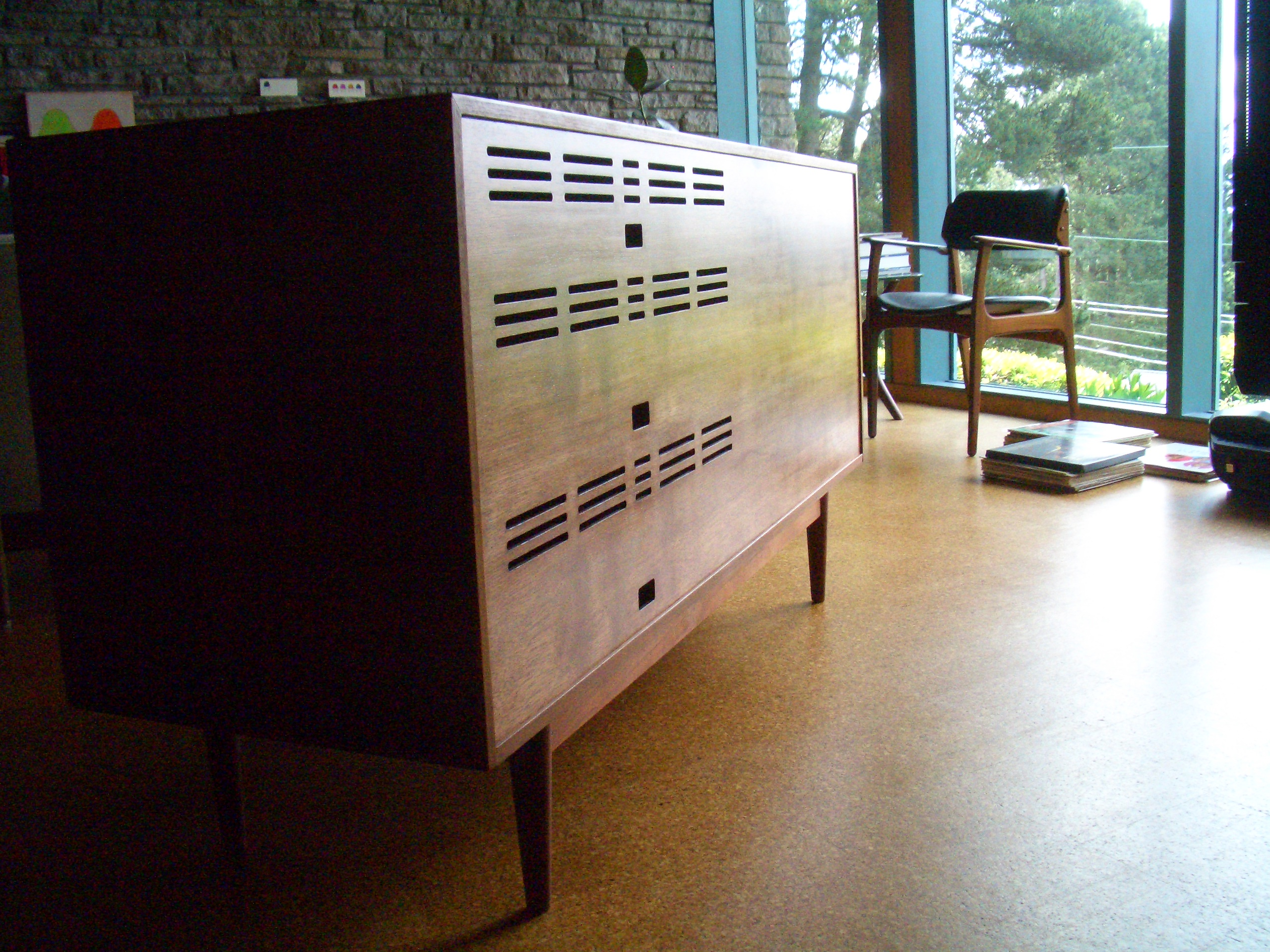 Vent panel reproduction